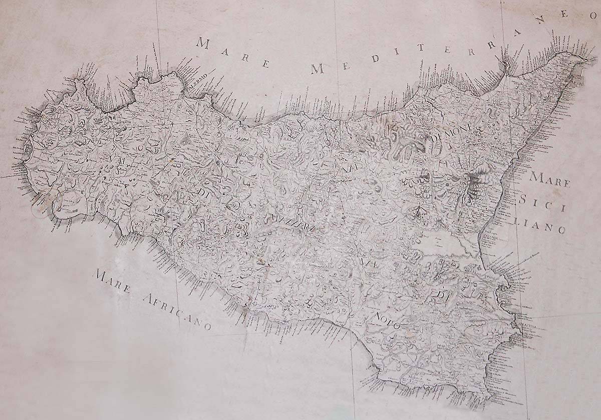 Mappa Sicilia Antica