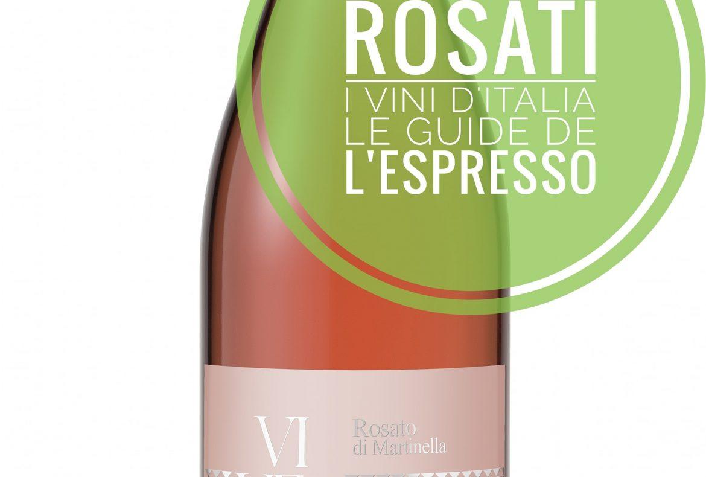 Rosato di Martinella tra i primi 30 vini rosati d'Italia