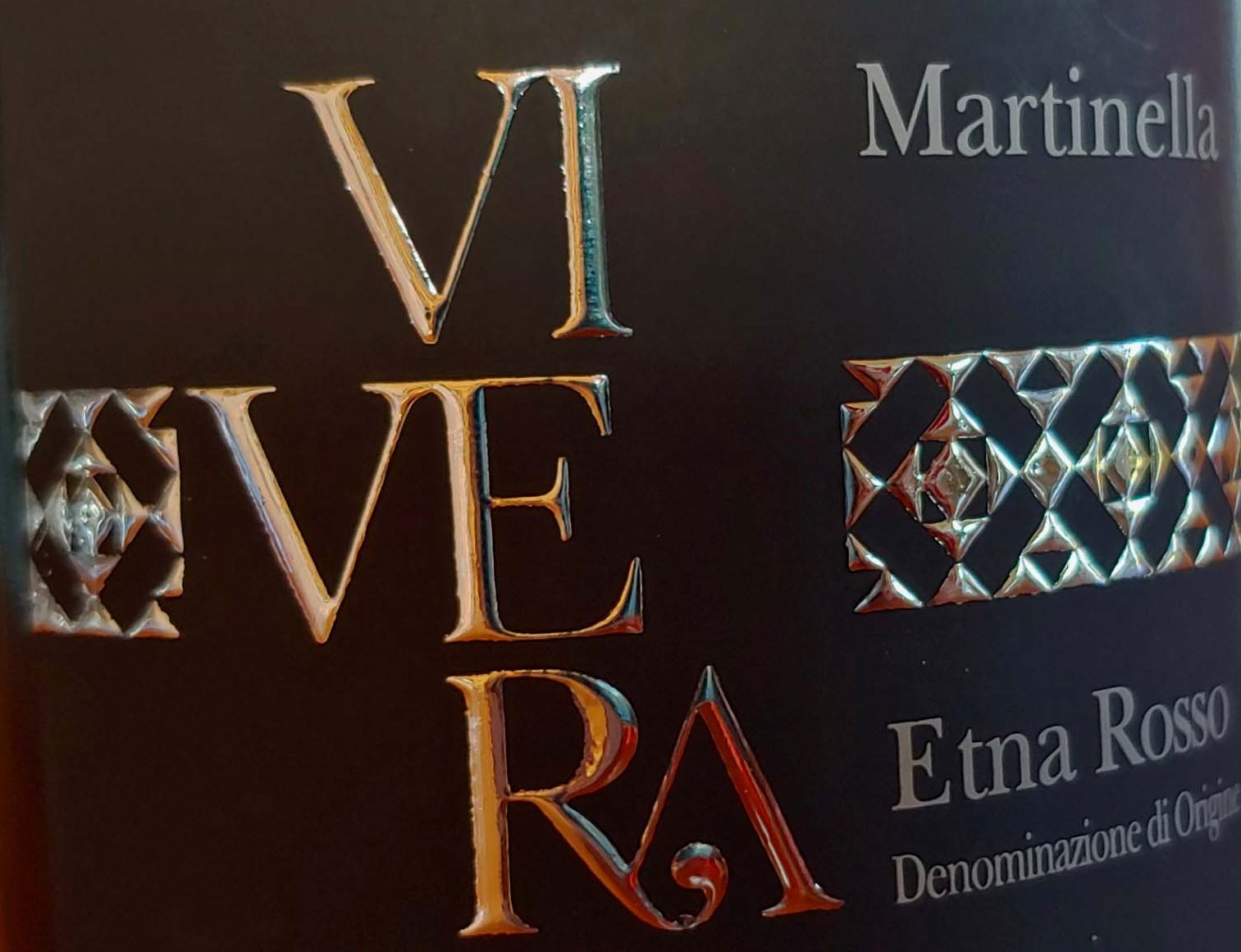 Martinella 2014 bio Etna wine red Vivera